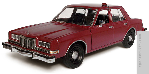 1/24 scale  Short Time Dodge Diplomat