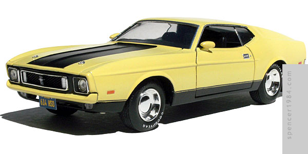 1/24 scale Gone in 60 Seconds Eleanor Mustang