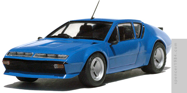 Misato Katsuragi's customized Renault Alpine A310 from Evangelion