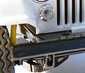 Daisy's Jeep suspension detail
