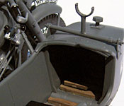 Indiana Jones and the Last Crusade motorcycle sidecar interior