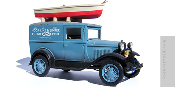 Ford Model A from the Three Stooges short Cookoo Cavaliers