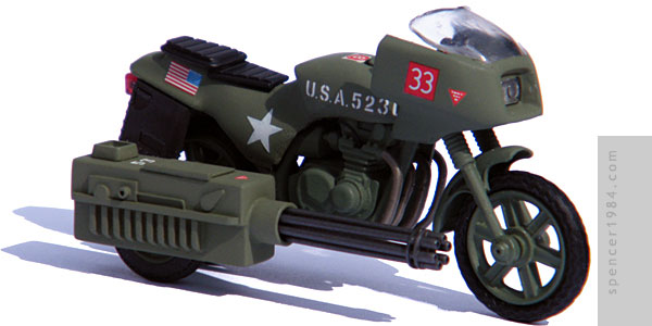 GI Joe Rapid Assault Motorcycle (RAM)