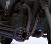 GI Joe Rapid Assault Motorcycle cannon muzzle