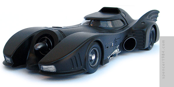 Michael Keaton's Batmobile from the 1989 movie Batman