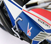 Kamen Rider Hurricane side detail