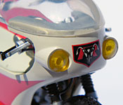 Kamen Rider Cyclone nose detail