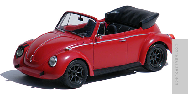 VW Beetle Cabriolet from the movie Ninja Cheerleaders