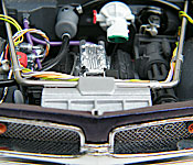 1967 Pontiac GTO engine bay