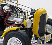 American Graffiti '32 Ford engine - right side