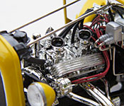American Graffiti '32 Ford engine - left side