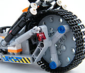 LEGO Super Cycle rear wheel