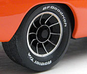 General Lee wheel detail
