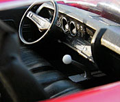Jack Reacher Chevelle interior