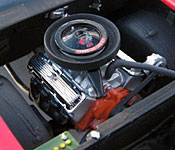 Jack Reacher Chevelle engine