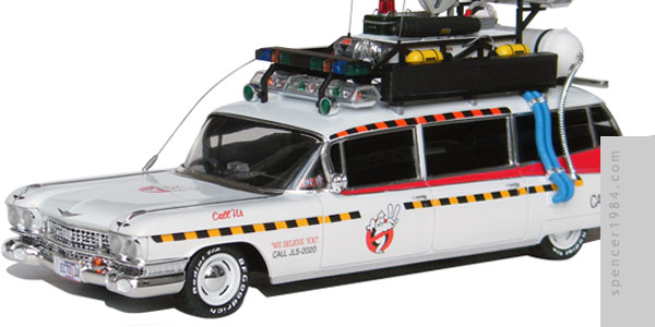 Ecto-1A Ectomobile from the movie Ghostbusters