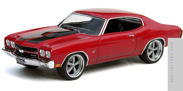 The Fast and the Furious 1970 Chevrolet Chevelle SS