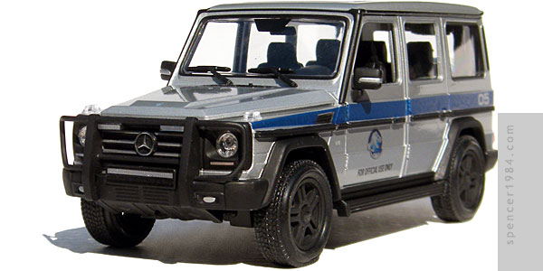 Mercedes-Benz G550 from Jurassic World