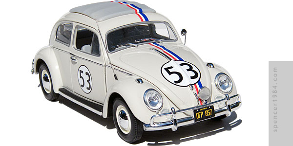 Herbie from the movie The Love Bug