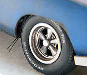1969 Dodge Charger Daytona right front wheel