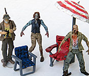 The Walking Dead Winnebago Chieftain figures and accessories