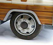 The Walking Dead Winnebago Chieftain roof detail