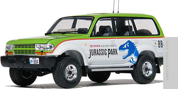 Toyota Land Cruiser from Jurassic Park