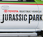 Jurassic Park Toyota Land Cruiser door detail