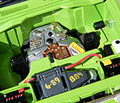 Jurassic Park Toyota Land Cruiser engine front