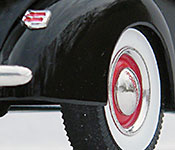 The Silver Spectrum 1940 Ford Deluxe rear detail