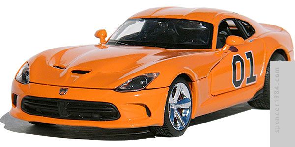Bo & Luke's Viper from the The Dukes of Hazzard AutoTrader advertisement