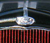 Deuce of Spades '32 Ford engine - right side