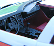 A-Team Corvette interior
