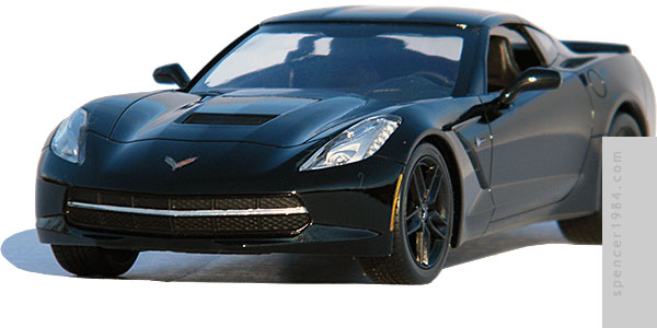 Captain America: The Winter Soldier 2014 Chevrolet Corvette