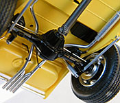 Hot for Teacher '32 Ford rear chassis detail