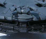 Batman v Superman Batmobile gun turret