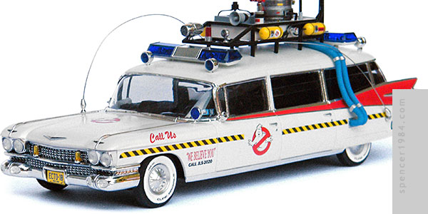 Ecto-1B Ectomobile from Ghostbusters: The Videogame