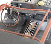 Half-Life 2 1969 Dodge Charger center console and dashboard