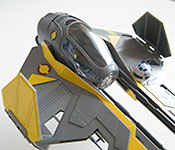 Anakin Skywalker's Eta-2 Light Interceptor radiators open