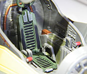 Anakin Skywalker's Jedi Starfighter cockpit