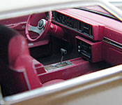 P2 Oldsmobile Cutlass Supreme interior