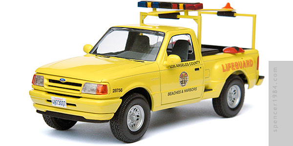 Ford Ranger Splash used in the TV series Baywatch