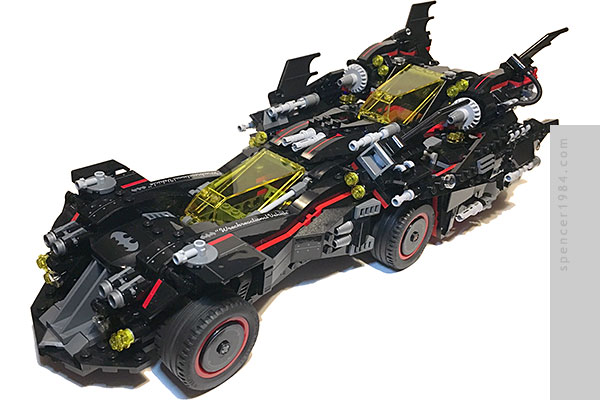 The LEGO Batman Ultimate Batmobile