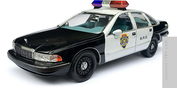 Raccoon City Police Car from the movie Resident Evil
