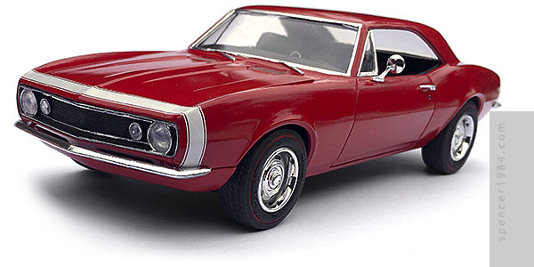 Skeet Ulrich's 1967 Chevrolet Camaro from the TV show Blood Drive