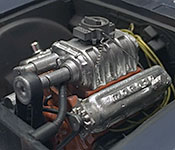 Thinner Chevy Nova engine
