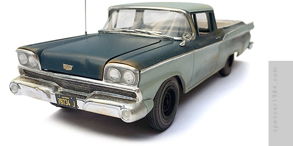 Steve McQueen's 1959 Ford Ranchero from the movie Paris, Texas
