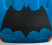 Detective Comics #420 Batmobile hood detail