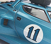 The Race Forever Lancia Stratos door detail