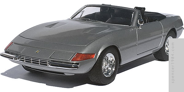 Ferrari 365 GTS/4 Daytona from the novel State of Fear